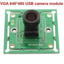VGA 640×480 mini usb board M7 100 degree lens CMOS OV7725 Micro VGA security Surveillance camera module