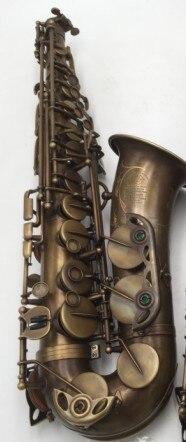 Personnalisé Selmer MARK VI Alto Saxophone E Plat Antique Copper Simulation avec Cas Accessoires Alto Sax Laiton Instruments