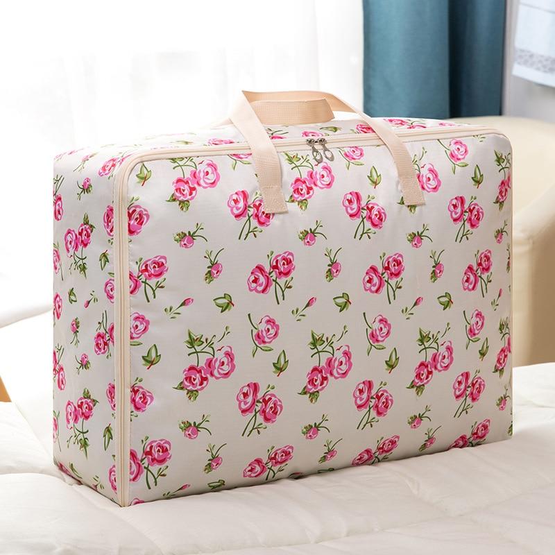 Large Capacity Oxford cloth Waterproof Travel Bag hand luggage bag Fashion Women Folding Bag organize storage Handbags