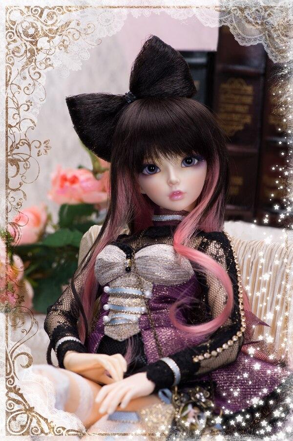 1 4 bjd doll Celine fashion doll free eyes