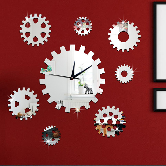 Décoratif mur de vitesse horloges murale design Art décoratif