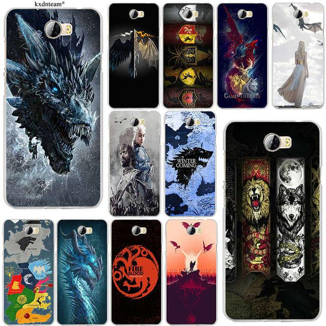 Games Thrones Wolf Soft TPU Silicon Phone Cases for Huawei P8 P9 P10 Lite  Mate 10 Pro Y5 Y6 Y3 II Y7 Honor 6X 7X 9 Lite Shell