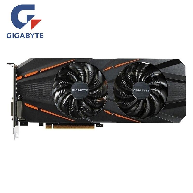 Original gigabyte placa de vídeo gtx 1060 g1 gaming 3 gb placa gráfica gpu mapa para nvidia geforce gtx1060 3 gb 192bit videocard cartões