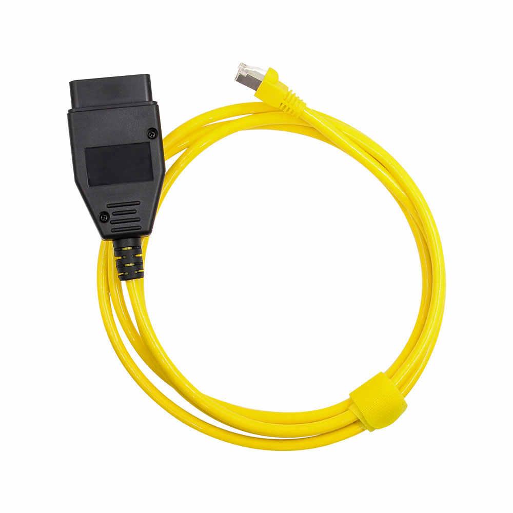 Esys enet f serie para bmw enet ethernet E-SYS icom 2 codificação com cd obd2 ferramenta de diagnóstico para bmw f-serie cabo de diagnóstico