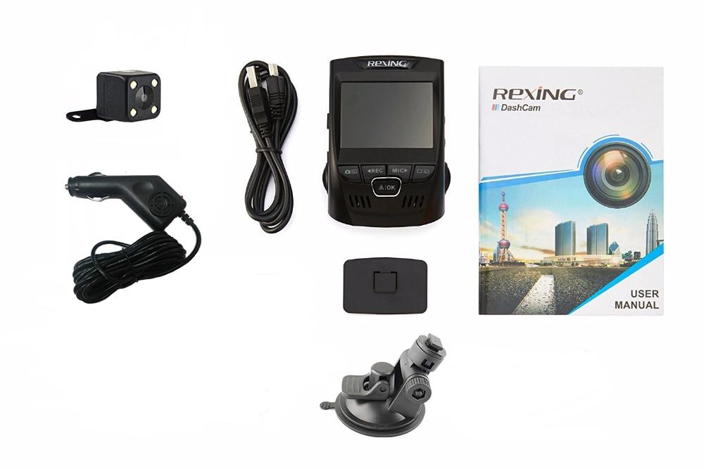 Rexing V1P, Yüksək keyfiyyət, Tam HD 1080P Arxa Kamera, Avtomobil - Avtomobil elektronikası - Fotoqrafiya 6