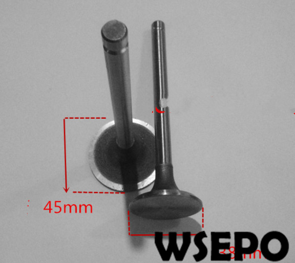 OEM Quality! Intake&Exhaust Valve Kit fits for Weichai K4100/4102 Water Cooled Diesel Engine,30KW Generator PartsOEM Quality! Intake&Exhaust Valve Kit fits for Weichai K4100/4102 Water Cooled Diesel Engine,30KW Generator Parts