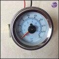 Double pointer air gauge DUAL needles 0-220PSI Black face barometer pneumatic suspension air ride air bag pressure