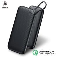 Baseus 20000mAh Power Bank Quick Charge 3 0 Powerbank QC3 0 Fast External Battery Charger Dual