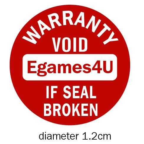 Персонализированные гарантия Уплотнение Этикетка повреждаемой бумаги Наклейка пустоту, если печать сломана, Диаметр 1.2 см, бесплатная дост