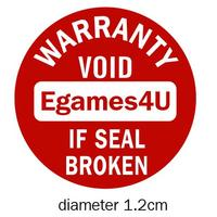 Personalized Warranty Sealing Label Damageable Paper Sticker Void If Seal Broken Diameter 1 2cm Free Shipping