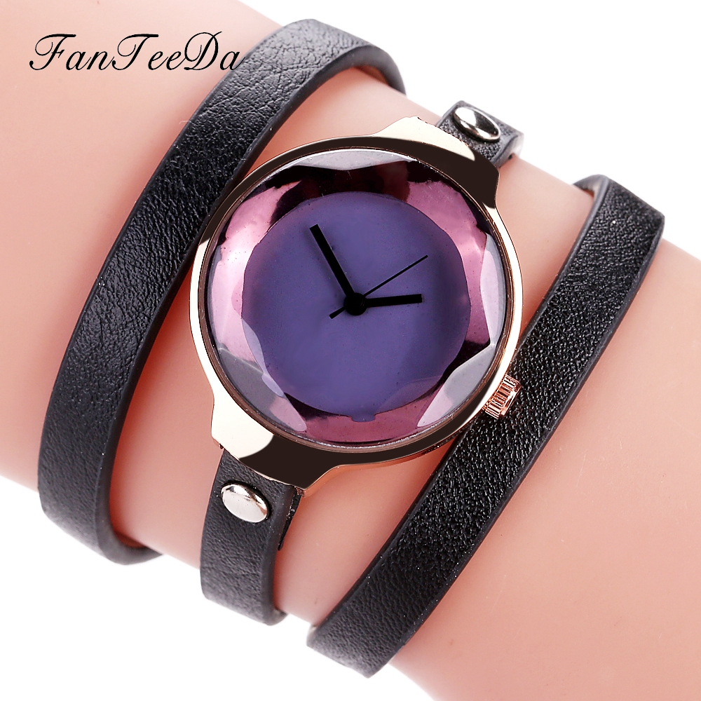 FanTeeDa Band Classic Women Dress Watches Leather Wrist Watch Causal Business Quartz Clock Wristwatch Luxury Fashion Watches