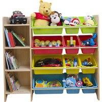 Твердой древесины детские игрушки полке шкафа Шкаф для хранения детский сад детские игрушки полка многослойная управления стойки