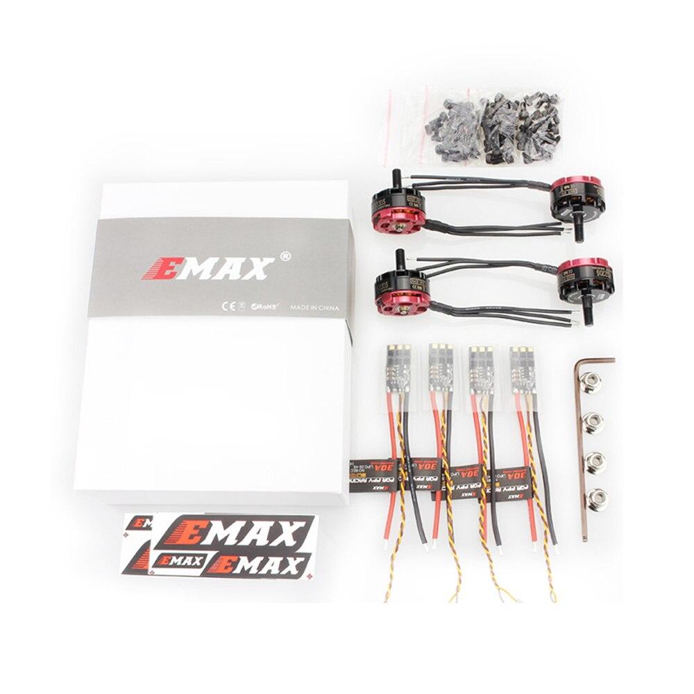 Moteur EMAX officiel Emax RS2205S moteur sans balai moteur RaceSpec (avec Combo Bullet 30A)