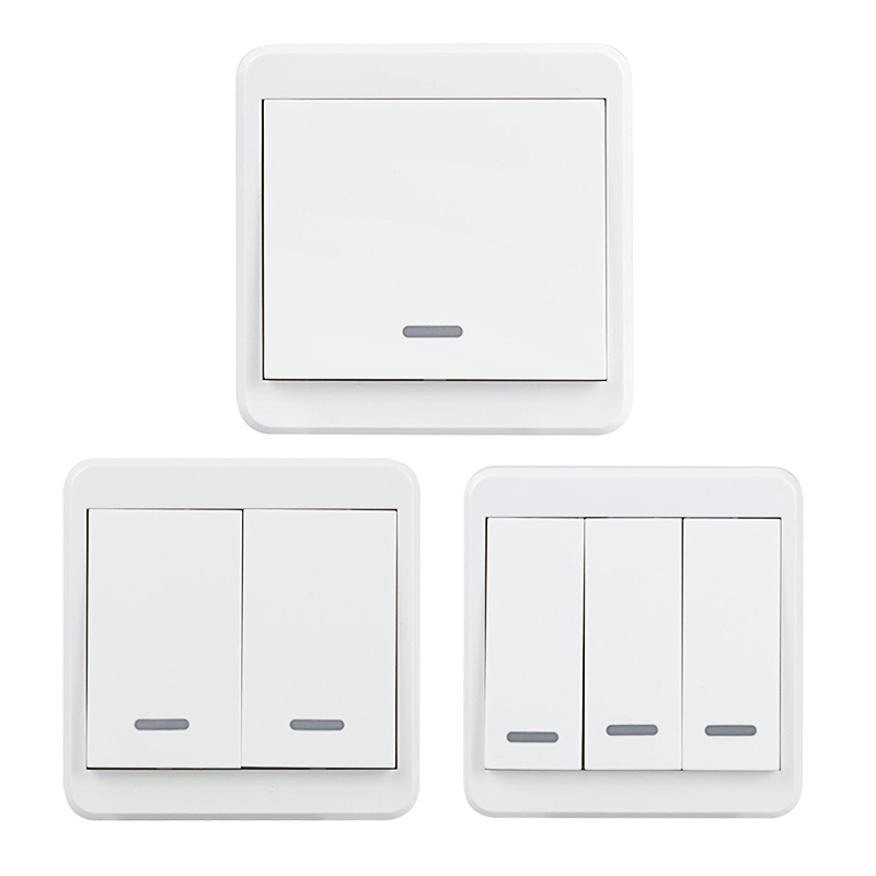 WiFi Switch Smart AC85-250V 1/2/3 Gang Light Wall Switch Voice APP Remote Control Manual Button Switch UK Plug DS35 ln kdc a11 4a 128a 250v switch button switch