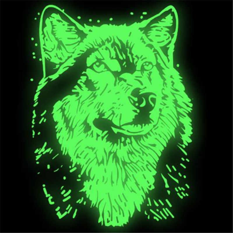 wolves iron on patches heat transfer pyrography for diy clothes decor YECF