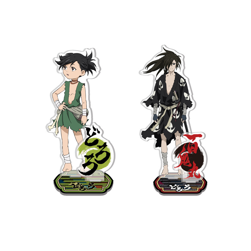 Anime Dororo Display Stand Figure Model Plate Holder Japanese Cartoon Figure Acrylic Collection Jewelry Christmas Gift