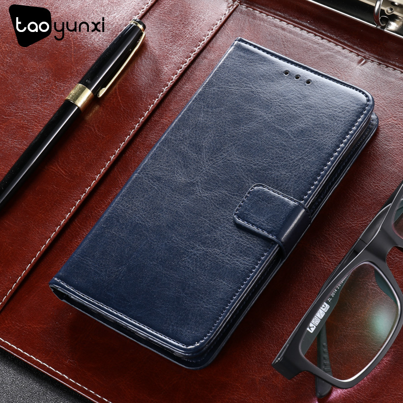 TAOYUNXI Cases For ZTE Blade L110 Case Wallet Cover For ZTE Blade A110 Case PU Leather Cases Luxury Covers Card Holders Housings
