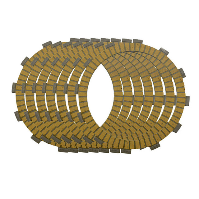 Motorcycle Engine Parts Clutch Friction Plates Kit For Kawasaki EN500 EN 500 Vulcan 500 LTD 1990-2009 #CP-0009