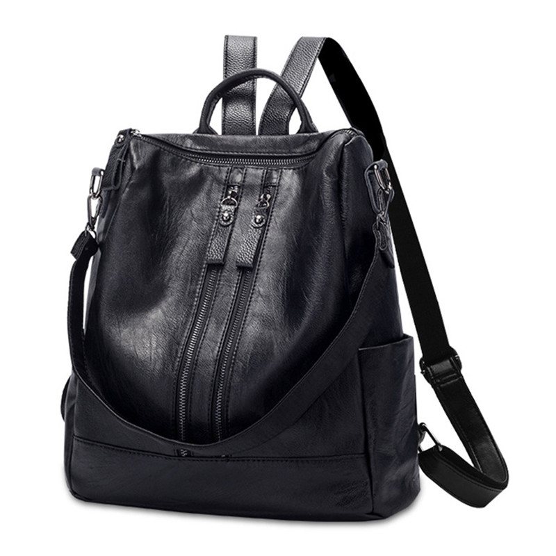 Fashion Lady Bag For Women Ladies' Pu Leather Backpack Luxury Quality Female Shoulder Bag Famous Women Designer Bag