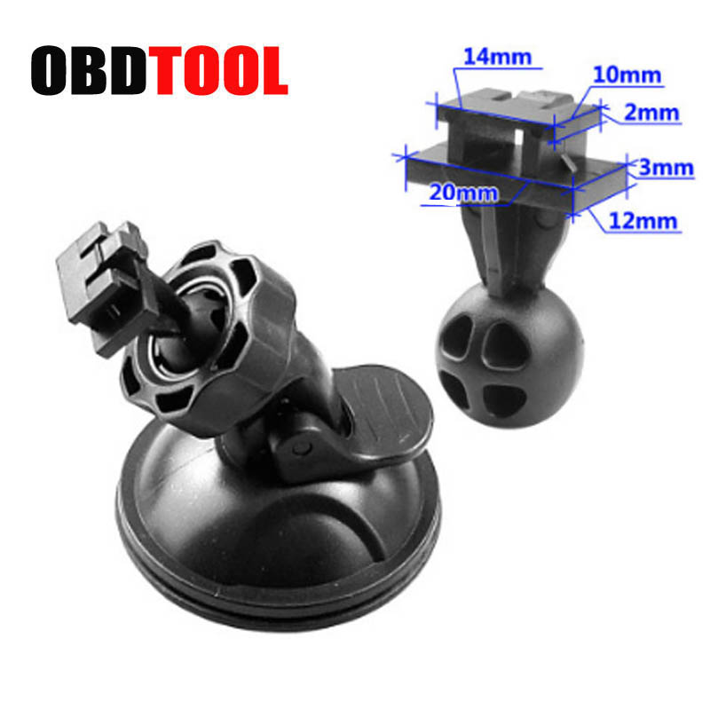 New Mini Car Driving Recorder Sucker Bracket Base Universal Mount for DVR Camera Bracket DV GPS Camera Stand Holder JC20 h 548 bike motorcycle mount stand w 3m sticker for camera gps dv player black
