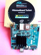 2220 minnowboard turbot duplo usando intel e3826 placa de desenvolvimento átomo
