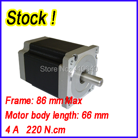 In Stock! Stepper motor 34HS6801 4 A  220 N.cm with 4 lead wires and  step angle 1.8 degree парктроник parkmaster 4 dj 34 34 4 a black