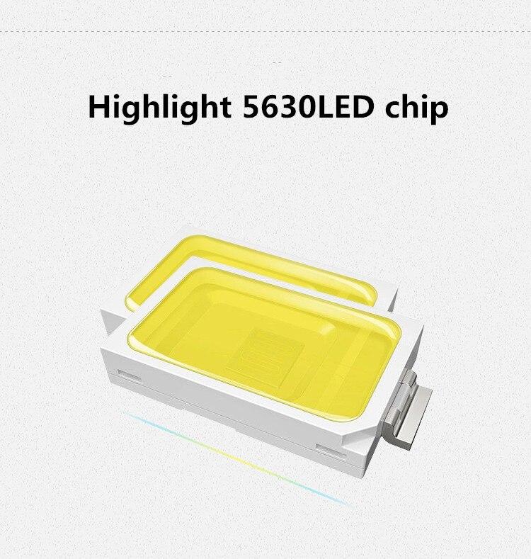 Lâmpadas de Parede lâmpada luz branca ultra brilhante Material : Alumínio