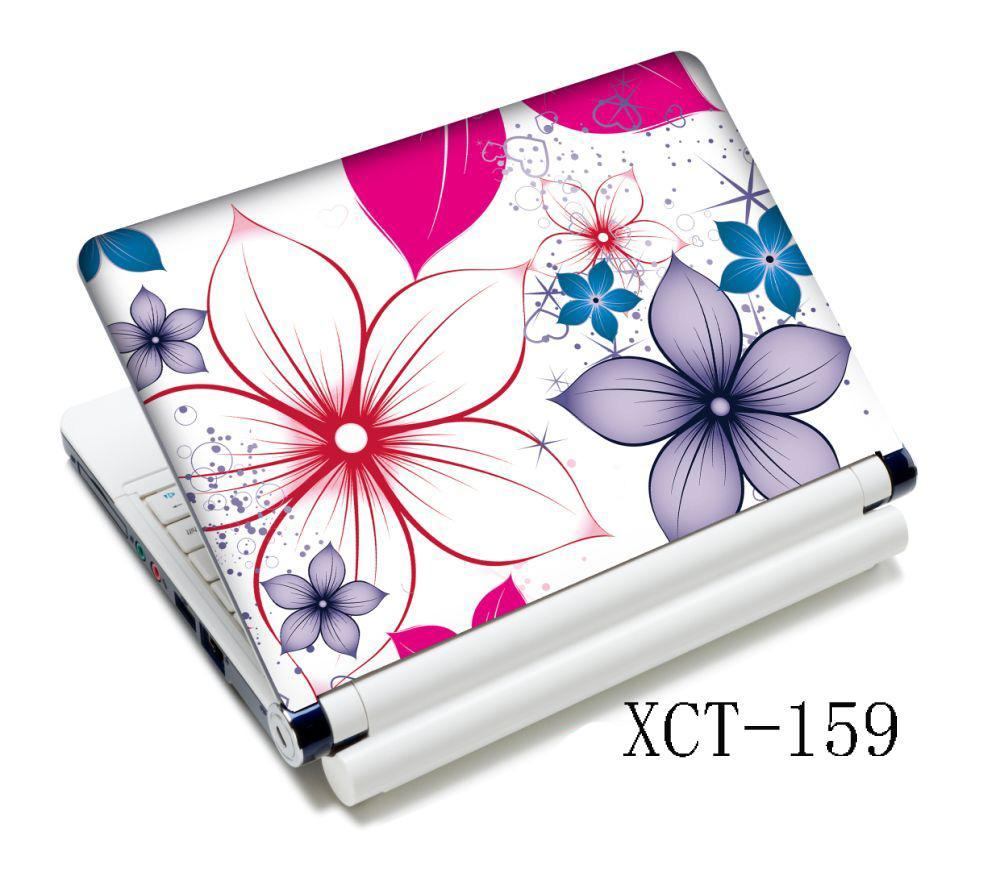 Flowers Laptop Netbook Decal Skin Sticker Protector For 13 14 15 15.4 Laptop PC