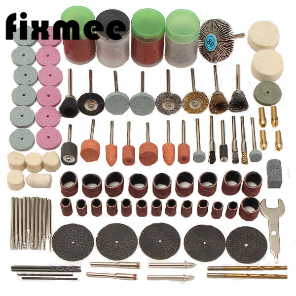New Type 1 Set Of 147pcpcs Mini Drill Multi Rotary Tool Accessories Set Grinding Polishing Kits For Dremel