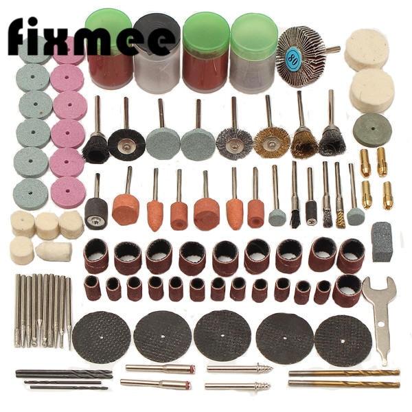 new type 1 Set of 147pcpcs Mini Drill Multi Rotary Tool Accessories Set Grinding Polishing Kits for Dremel