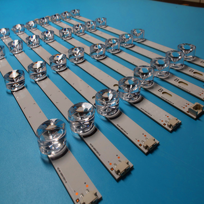 100% NEW 8 PCS(4*A,4*B) LED Strips Substituted New For LG INNOTEK DRT 3.0 42