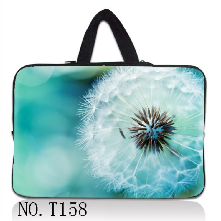 Dandelion Laptop Sleeve Case Notebook Inner Bag Computer Cover Pouch for Dell ASUS Lenovo Macbook Pro Air 11121317 141515.6