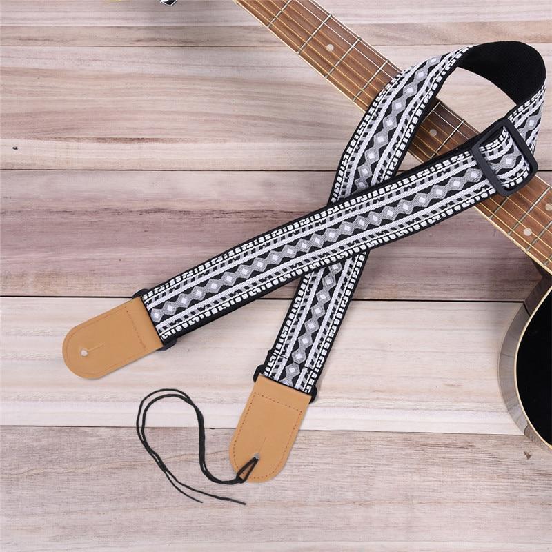 P&P Guitarra acústica Correa Diseño personal Estilo de bordado - Instrumentos musicales - foto 3