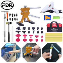 PDR Paintless Dent Repair Tools Dent Lifter Pops a Dent Removal Slide Hammer Puller Repair glue Tabs Hot Melt Glue Gun Sticks(China)