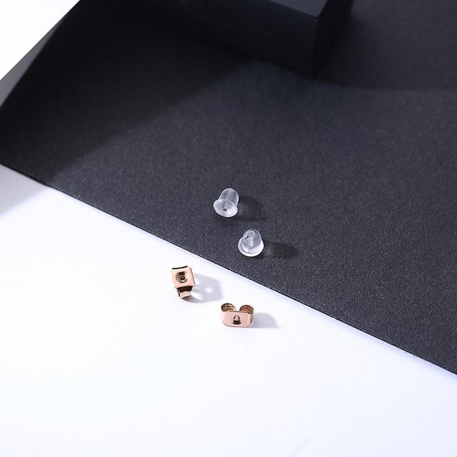 Купить модные ювелирные аксессуары геометрический набор из титановой