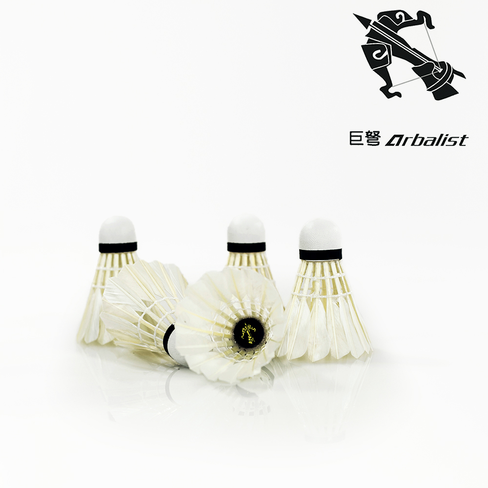 2016 12 Pcs White duck Feather Badminton Shuttlecock Shuttlecocks Training Competition Badminton Ball Outdoor Sports Products