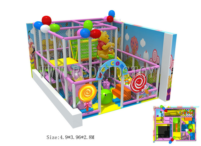 Exported To France Ce Roved Nursery Indoor Play Equipment 160328a