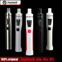 Original Joyetech EGo Aio Kit 0 6ohm 1500mah Battery Mod E Cigarette Kit With 2ml Atomizer