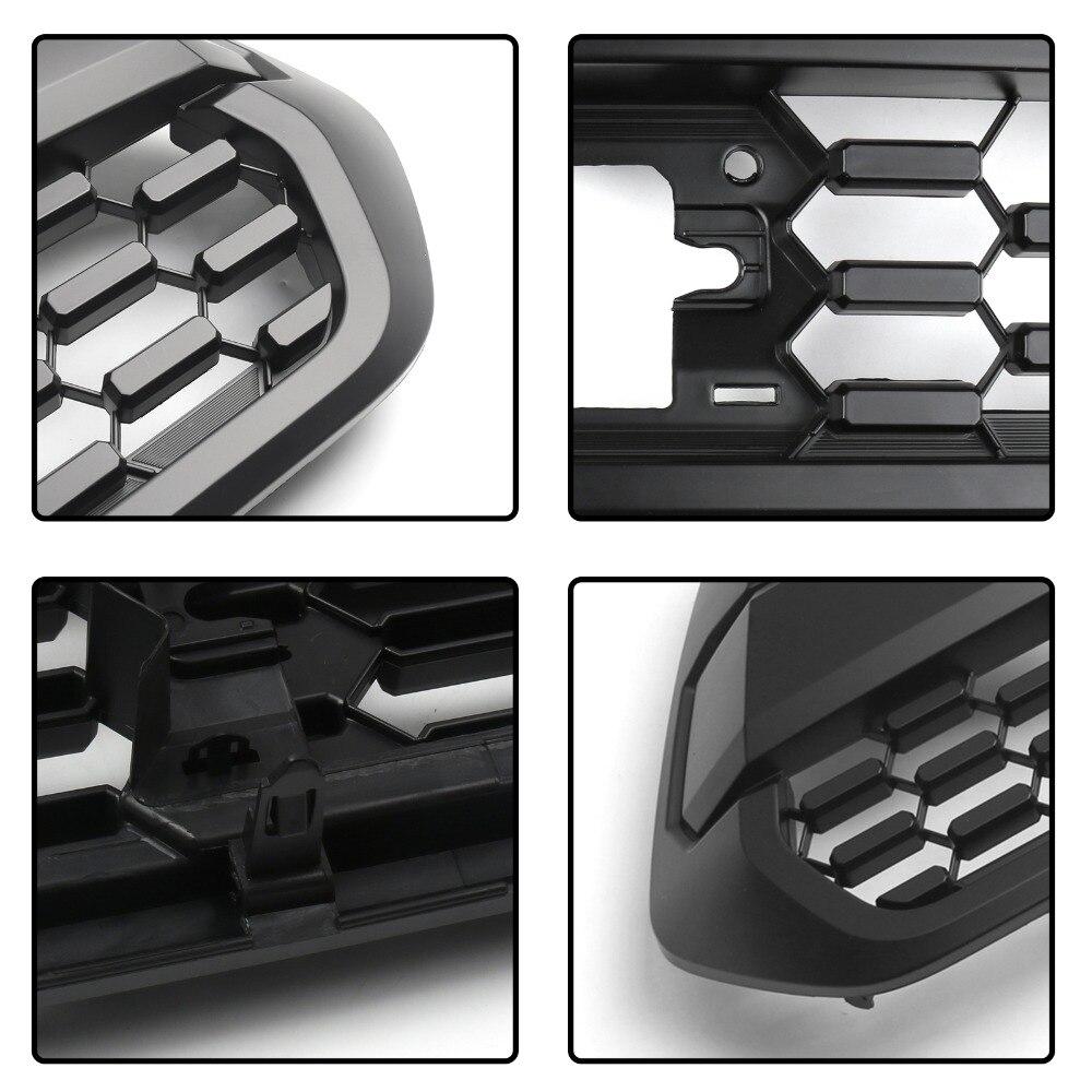 Areyourshop voiture OEM pare-choc avant capot gril noir mat pour Toyota Tacoma TRD PRO 2016-2019 2017 accessoires de style de voiture en plastique - 4