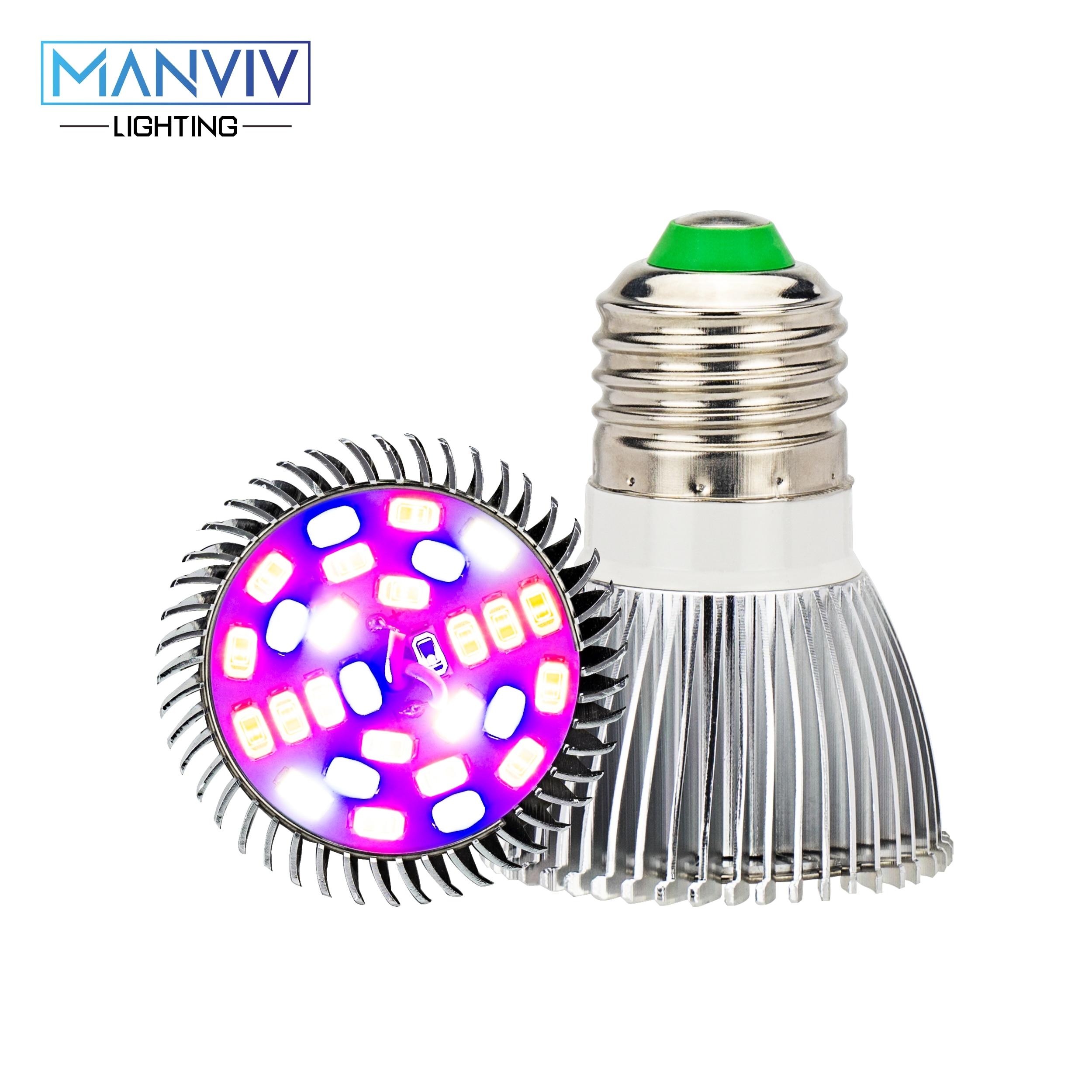 LED Grow Lamp 5W 10W 30W 50W 80W AC85-265V Full Spectrum E27 LED Grow Light Bulb DIY For Garden Plants Flower Hydroponics Growth