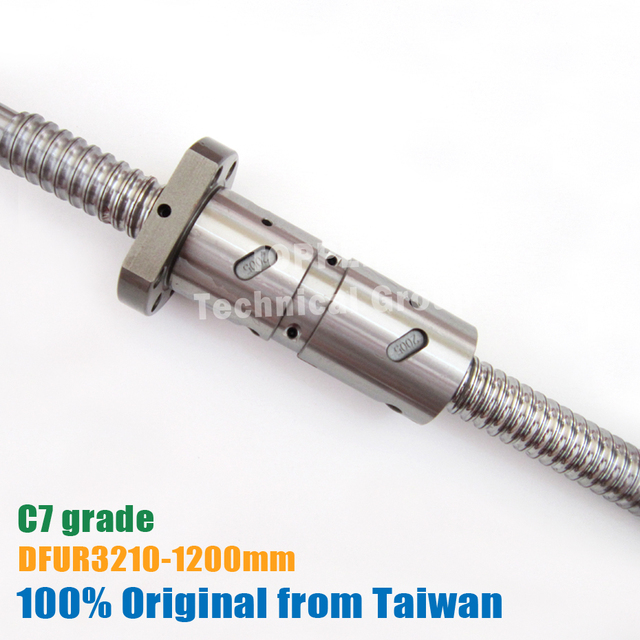 US $459 39 |Taiwan TBI DFU3210 10mm pitch ball screws 1200mm with new Ball  nut OFU3210 for CNC kit-in Linear Guides from Home Improvement on