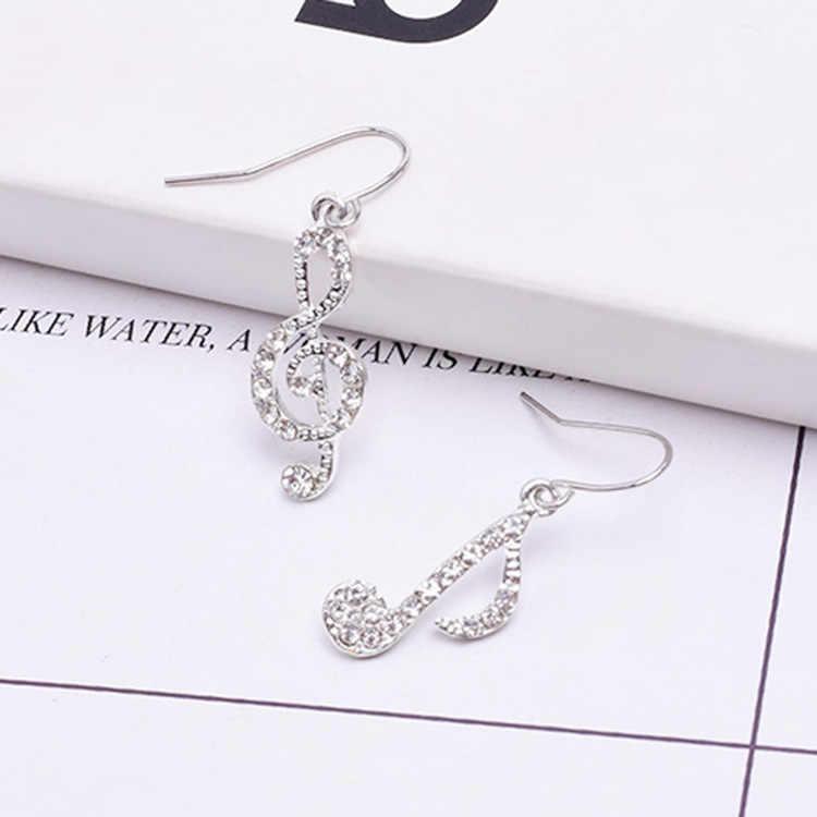 Elegante nova nota brincos coreano temperamento assimétrico orelha jóias direto da fábrica brincos longos oorbellen brincos