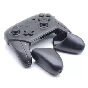 Image 5 - Contrôleur de commutateur de ntint Pro poignées antidérapantes de remplacement de coquille de poignée de point couverture pour NS NintendoSwitch PRO accessoires ABS TPR