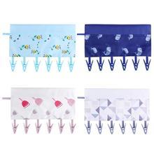 6clip 3cell Portable Folding Cloth Makeup