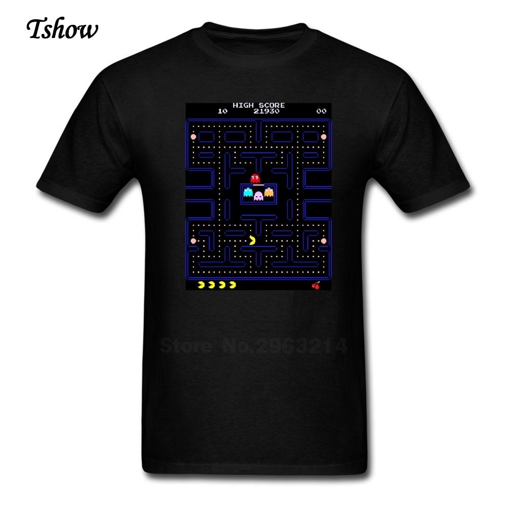 Design a t shirt kit - Xs 3xl Pacman High Score Save Kit T Shirts Men Short Sleeve Cotton T