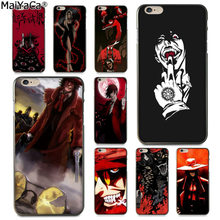 Maiyaca Anime Hellsing Alucard Fan Mode Menyenangkan Dinamis Ponsel Case untuk Apple Iphone 8 7 6 6S Plus X 5 5S SE X XR X Max Cover(China)