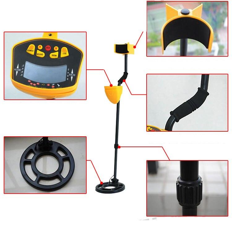 Kids' toy Treasure detector gold finer sale, MD3010 underground metal detector md 3010II