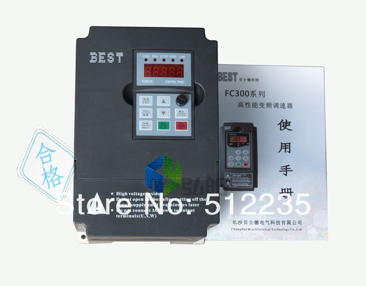 цена на Variable Frequency Drive VFD Inverter 2.2KW 3HP 220V 2.2 kw inverter