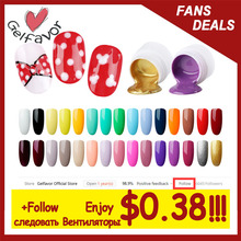 Gelfavor Painting Gel Varnishes Nail Gel 5ML Nail Art Glitter UV Lacquer Need Base Top Gel Nail Polish Nail Art For a Manicure cheap 1PCS RJP101-130 UV Gel Easy removal 30 days SGS MSDS Eco-friendly health Easy to handle Flavorless BASE TOP Coat LED Lamp(30s) UV lamp(2min)