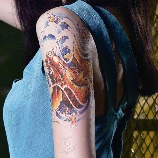 Temporary Tattoo Stiker Waterproof Pria Wanita Seks Produk Ikan Mas